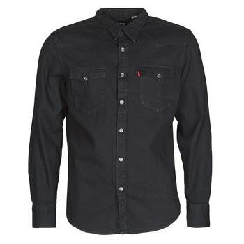 Oblečenie Muži Košele s dlhým rukávom Levi's BARSTOW WESTERN STANDARD Čierna