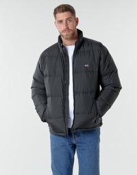 Oblečenie Muži Vyteplené bundy Levi's FILLMORE SHORT JACKET Čierna / Čierna