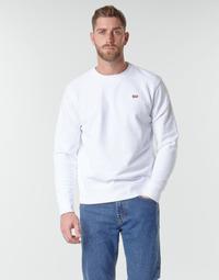 Oblečenie Muži Mikiny Levi's NEW ORIGINAL CREW Biela
