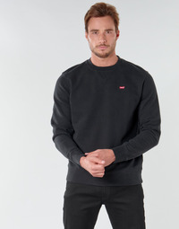Oblečenie Muži Mikiny Levi's NEW ORIGINAL CREW Čierna