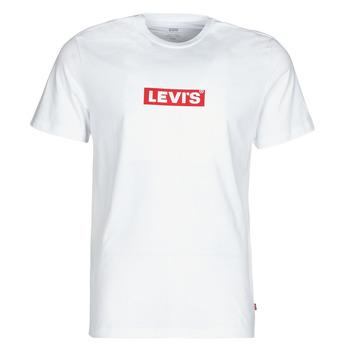 Oblečenie Muži Tričká s krátkym rukávom Levi's BOXTAB GRAPHIC TEE Biela