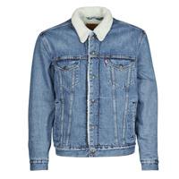 Oblečenie Muži Džínsové bundy Levi's TYPE 3 SHERPA TRUCKER Modrá