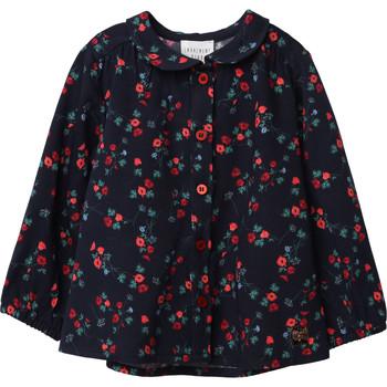 Oblečenie Dievčatá Blúzky Carrément Beau Y95234 Modrá