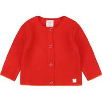 Oblečenie Dievčatá Cardigany Carrément Beau Y95225 Ružová