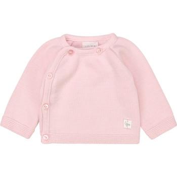 Oblečenie Dievčatá Tričká s dlhým rukávom Carrément Beau Y95228 Ružová