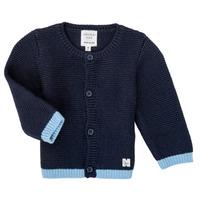 Oblečenie Dievčatá Cardigany Carrément Beau Y95230 Modrá