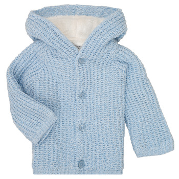 Oblečenie Chlapci Kabáty Carrément Beau Y96053 Modrá
