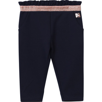 Oblečenie Dievčatá Nohavice päťvreckové Carrément Beau Y94194 Modrá