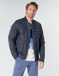 Oblečenie Muži Bundy  Scotch & Soda JACQUARD BOMBER Námornícka modrá