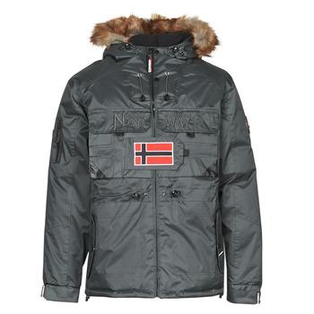 Oblečenie Muži Parky Geographical Norway BENCH Šedá