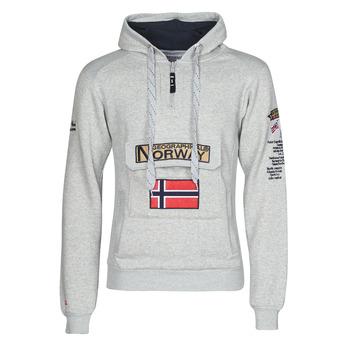 Oblečenie Muži Mikiny Geographical Norway GYMCLASS Šedá / Mix