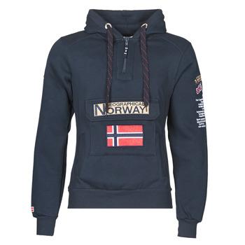 Oblečenie Muži Mikiny Geographical Norway GYMCLASS Námornícka modrá