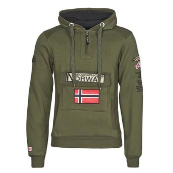 Oblečenie Muži Mikiny Geographical Norway GYMCLASS Kaki