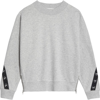 Oblečenie Dievčatá Mikiny Calvin Klein Jeans IG0IG00687-PZ2 Šedá