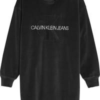 Oblečenie Dievčatá Krátke šaty Calvin Klein Jeans IG0IG00711-BEH Čierna