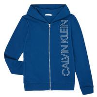Oblečenie Chlapci Mikiny Calvin Klein Jeans IB0IB00668-C5G Modrá
