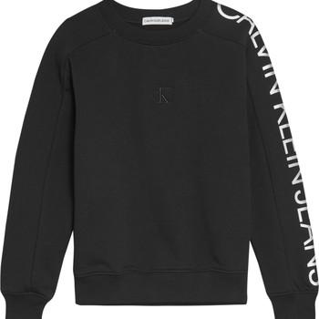 Oblečenie Dievčatá Mikiny Calvin Klein Jeans IG0IG00691-BEH Čierna