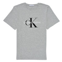 Oblečenie Deti Tričká s krátkym rukávom Calvin Klein Jeans MONOGRAM Šedá
