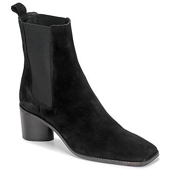 Topánky Ženy Čižmičky Jonak BERGAMOTE Čierna