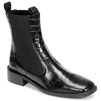 Topánky Ženy Polokozačky Jonak BOLIVIA Čierna