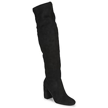 Topánky Ženy Cizmy Nad Kolenà Jonak MILO Čierna