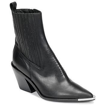 Topánky Ženy Čižmičky Jonak BINGO Čierna