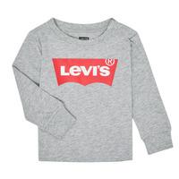 Oblečenie Chlapci Tričká s dlhým rukávom Levi's BATWING TEE LS Šedá