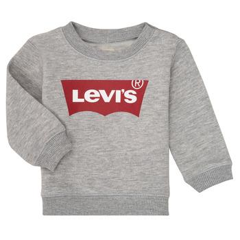 Oblečenie Chlapci Mikiny Levi's BATWING CREW Šedá