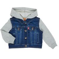 Oblečenie Chlapci Džínsové bundy Levi's INDIGO JACKET Modrá