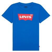 Oblečenie Chlapci Tričká s krátkym rukávom Levi's BATWING TEE Modrá