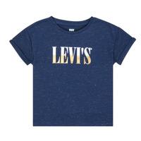 Oblečenie Dievčatá Tričká s krátkym rukávom Levi's DROP SHOULDER TEE Modrá