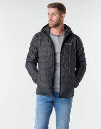 Oblečenie Muži Vyteplené bundy Columbia DELTA RIDGE DOWN HOODED JACKET Čierna