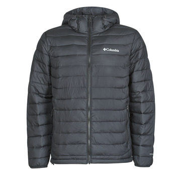 Oblečenie Muži Vyteplené bundy Columbia POWDER LITE HOODED JACKET Čierna