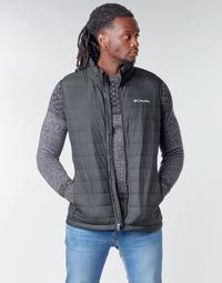 Oblečenie Muži Vyteplené bundy Columbia POWDER LITE VEST Čierna