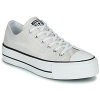 Topánky Ženy Nízke tenisky Converse CHUCK TAYLOR ALL STAR LIFT - INDUSTRIAL GLAM Strieborná