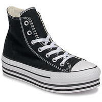 Topánky Ženy Členkové tenisky Converse Chuck Taylor All Star Platform Eva Layer Canvas Hi Čierna