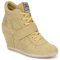 Topánky Ženy Členkové tenisky Ash BOWIE Žltá / Pastelová