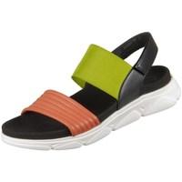 Topánky Ženy Sandále Gabor 4361120 Čierna, Zelená, Hnedá