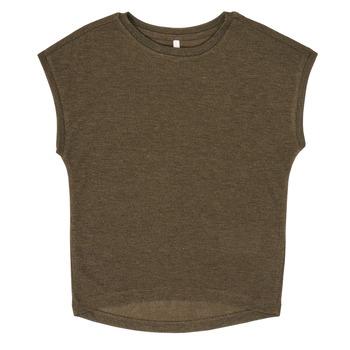Oblečenie Dievčatá Tričká s krátkym rukávom Only KONSILVERY Čierna