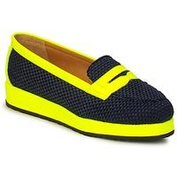 Topánky Ženy Mokasíny MySuelly VALENTINE Čierna / Žltá