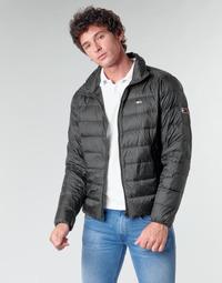 Oblečenie Muži Vyteplené bundy Tommy Jeans TJM PACKABLE LIGHT DOWN JACKET Čierna