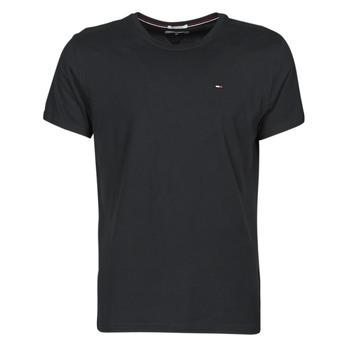 Oblečenie Muži Tričká s krátkym rukávom Tommy Jeans TJM ORIGINAL JERSEY TEE Čierna