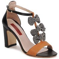 Topánky Ženy Sandále MySuelly NOE Čierna / Hnedá