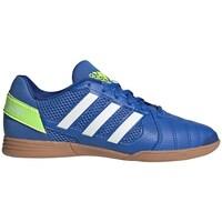 Topánky Deti Futbalové kopačky adidas Originals Top Sala Biela,Modrá,Žltá