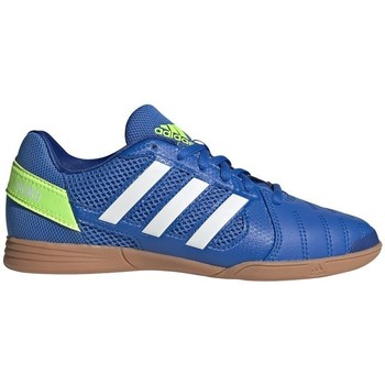 Topánky Deti Futbalové kopačky adidas Originals Top Sala Biela, Modrá, Žltá