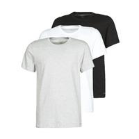 Oblečenie Muži Tričká s krátkym rukávom Calvin Klein Jeans CREW NECK 3PACK Šedá / Čierna / Biela