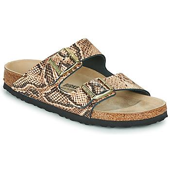 Topánky Ženy Šľapky Birkenstock ARIZONA Béžová