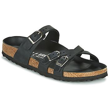 Topánky Ženy Šľapky Birkenstock FRANCA Čierna
