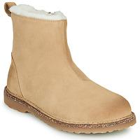 Topánky Ženy Polokozačky Birkenstock MELROSE SHEARLING Béžová