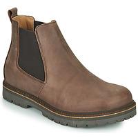 Topánky Muži Polokozačky Birkenstock STALON Hnedá